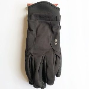 NWT Free Country Mens Soft Shell Gloves Black
